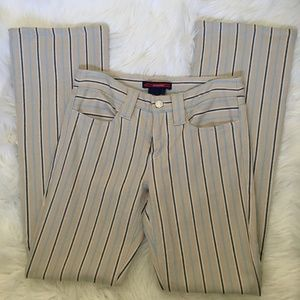 bcbg max azria striped jeans